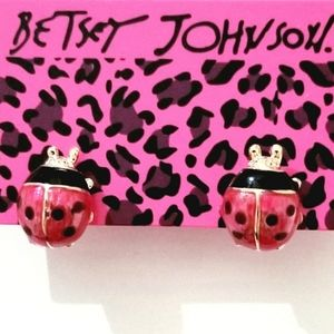 LADYBUG Betsey Johnson Earrings